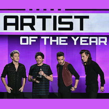One Direction и Тейлор Свифт взяли по две American Music Awards
