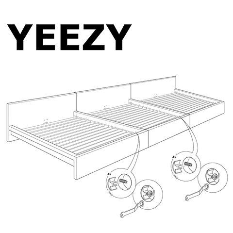 Заманчивое предложение: Канье Уэст IKEA